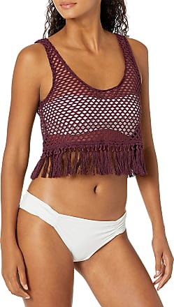 Bikini Lab Womens Cowl Neck Dress Swimsuit Cover Up
