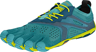 Vibram Fivefingers V-run, Womens Training Shoes, Turquoise (Teal/Navy Teal/Navy), 8-8.5 UK (42 EU)