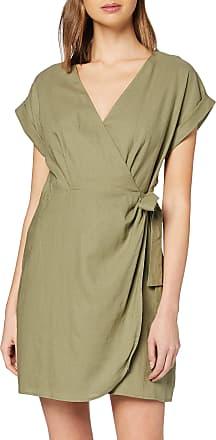 Pepe Jeans London Womens Dress, Green (Thyme 732), X-Large