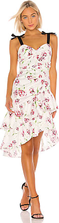Parker Panama Combo Dress in White