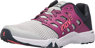 Inov-8 Womens All Train 215 Road Running Shoes, Light Grey/Purple/Navy, 8.5 Wide