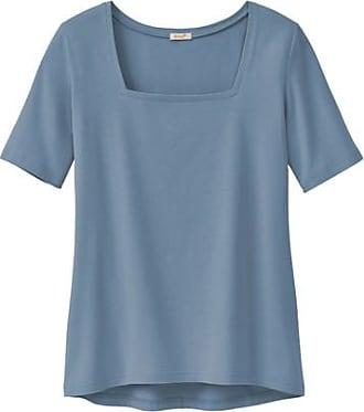 Enna T-Shirt mit Karree-Ausschnitt aus Bio-Baumwolle, pazifik