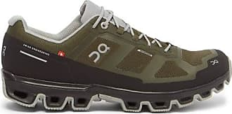 On Cloudventure Waterproof Coated-mesh Trainers - Mens - Khaki
