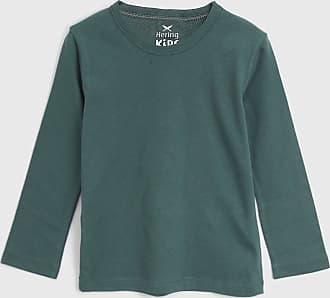 Hering Kids Camiseta Hering Kids Infantil Liso Verde