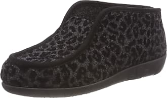 Rohde Womens Ballerup Hi-Top Slippers, Grey Anthracite 82, 6.5 UK