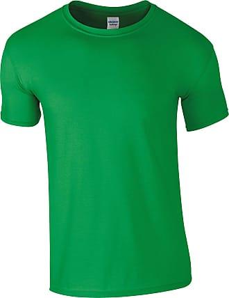 Gildan Mens Softstyle Ringspun T-Shirt Irish Green 3XL