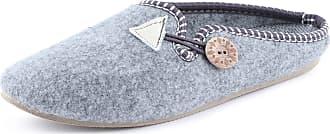 Ladeheid Women´s Felt Slippers Shoes Flipflops PFF084 (Melange, 40 EU = 6.5 UK)