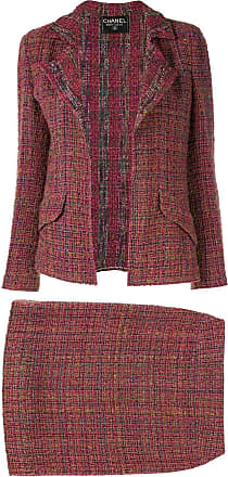 Chanel two-piece skirt suit - Purple