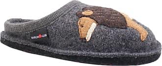 Haflinger 313070-3 AR Lion Womens Slippers, schuhgröße_1:39 EU, Farbe:Grey