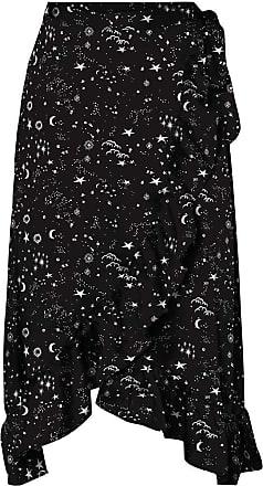 Vero Moda Hanna Wrap Skirt 12 Black