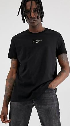 9c4d4b6826a Versace Jeans Couture T-shirt oversize avec petit logo - Noir - Noir