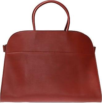 The Row Margaux Shoulder Bag Womens Burgundy