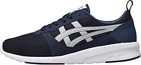 Asics Asics low profile trainers These lightweight trainers are constructed in a breathable mesh upper with Asics stripe overlay