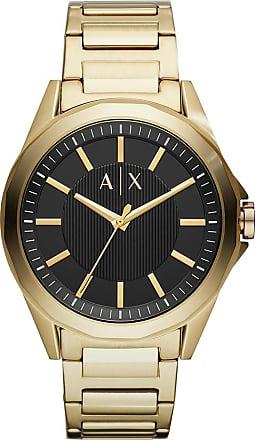 A|X Armani Exchange Relógio Quartz Drexler - Homem - Dourado - Único IT