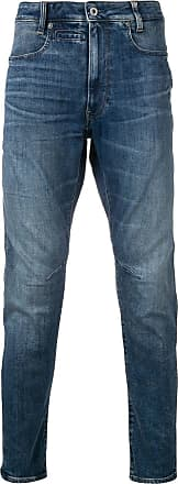 G-Star Raw Research Calça jeans cenoura - Azul