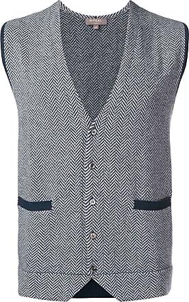 N.Peal The Chelsea waistcoat - Grey