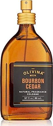 Olivina Men Olivina Men Natural Fragrance Cologne In Wood Box, Bourbon Cedar, 2.7 Fl. Oz