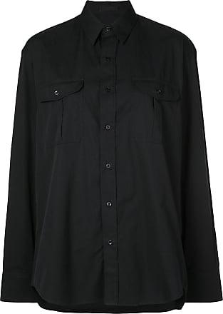 Wardrobe.NYC Camisa de alfaiataria - Preto