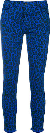 J Brand Calça jeans animal print - Azul