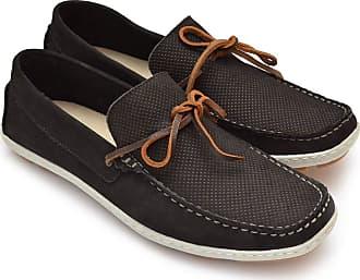 Di Lopes Shoes Mocassim confeccionado em Couro Masculino (40, Marinho)