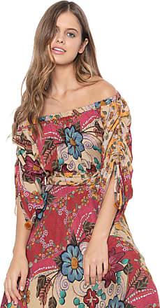 Dress To Blusa Dress to Tupay Bege/Vinho