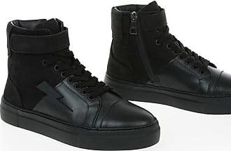 Neil Barrett Sneakers THUNDER BASKET in Pelle taglia 45