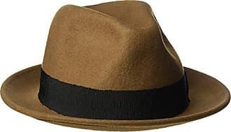 6353db6f3a0e6c Goorin Brothers Mens Mr. Driver Wool Fedora Hat, Brown, X-Large