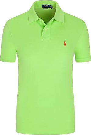 Polo Ralph Lauren Poloshirt, Slim Fit von Polo Ralph Lauren in Hellgruen für Herren