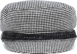 Maison Michel New Abby houndstooth hat