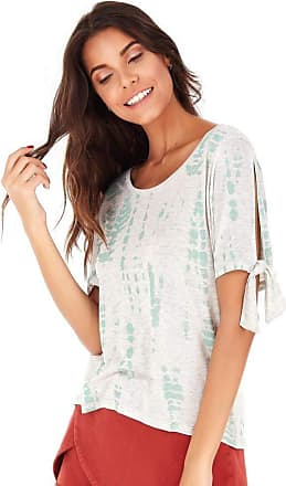 SideWalk Camiseta Tie Dye - Verde Pistache - Tamanho M