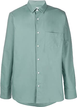 Filippa K Camisa Oxford com patch - Verde