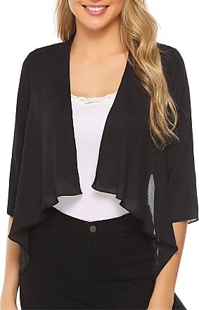 Womens New Soft White Lace 3//4 Sleeve Bolero Jacket Sizes 16 To 26 Party Casual