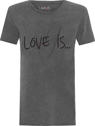 TWENTY FOUR SEVEN T-shirt Love Is - Preto