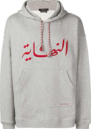 Qasimi Melange hoodie - Grey