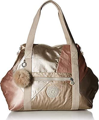 Kipling Art Medium Tote Bag, Gold Combo, One Size