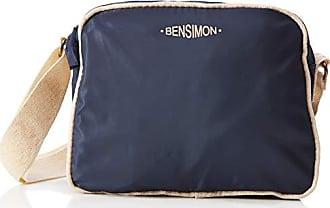 72839d6044 Bensimon femme Small Besace Sac bandouliere Bleu (MARINE)