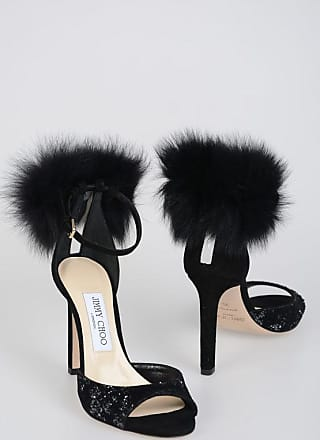 Jimmy Choo London 10 cm Glittery SURI Sandals size 35,5