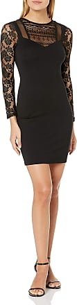 French Connection Womens Mia Beau Dress, Black, 10
