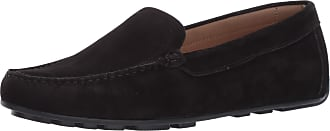 Driver Club USA Womens Leather Made in Brazil Driving Loafer with Venetian Detail, Black Nubuck, 5.5 UK