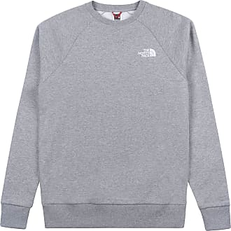 The North Face North Face Capsule Raglan Redbox Crew Sweater Medium TNF Grey Heather English Green UX Digi Camo Print