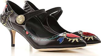 Dolce   Gabbana Scarpe con Tacco da Donna On Sale in Outlet 78263b6eccb