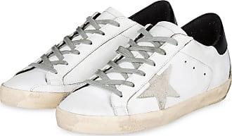 Golden Goose Sneaker SUPERSTAR - WEISS/SCHWARZ/CREME