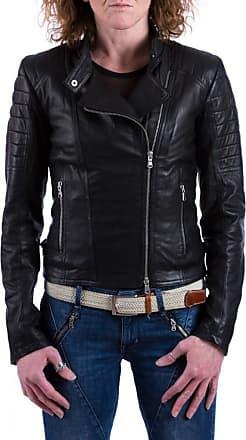 Leather Trend Italy Manila - Giacca Donna in Vera Pelle colore Nero Morbida