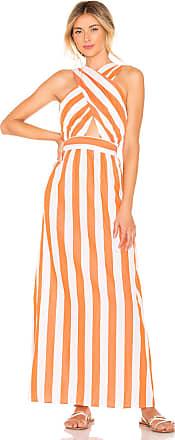 Mara Hoffman Rosario Dress in Orange