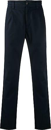 Aspesi mid-rise straight-leg trousers - Azul