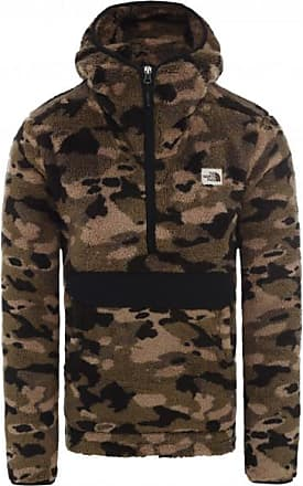 The North Face Campshire Pullover Hoodie Pullover in pile Uomo | marrone/nero