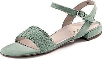 Paul Green Damen modische Sandale Plateausandale  Sommerschuhe Schuhe silber