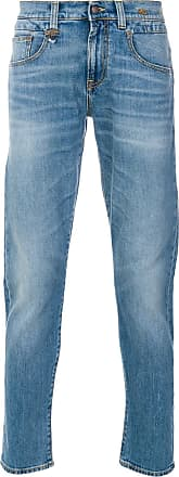 R13 slim-fit jeans - Azul