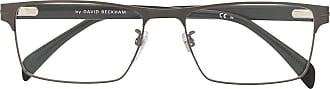 David Beckham Armação de óculos retangular DB 7015 - Preto