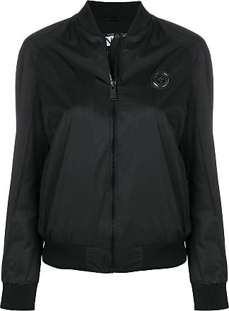 Plein Sport slim fit bomber jacket - Preto